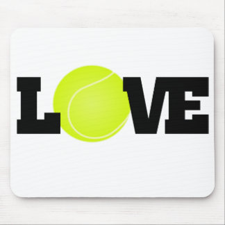 Tapis De Souris Amour de tennis