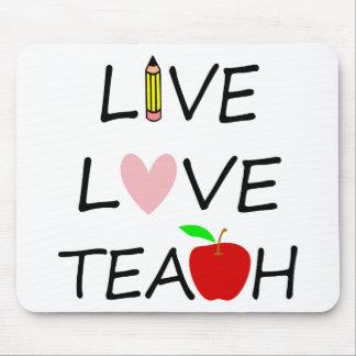 Tapis De Souris amour vivant teach2