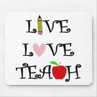 Tapis De Souris amour vivant teach3