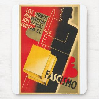 Tapis De Souris Anarchiste de guerre civile espagnole/affiche rare
