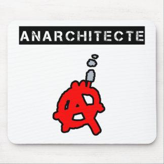 Tapis De Souris Anarchitecte - Jeux de Mots - Francois Ville