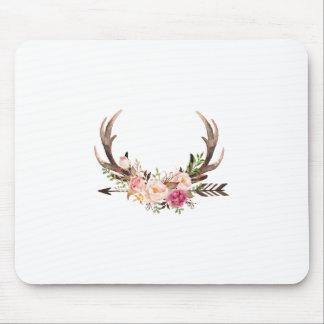 Tapis De Souris Andouillers floraux