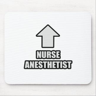 Tapis De Souris Anesthésiste d'infirmière de flèche