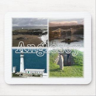Tapis De Souris Anglesey Ynws lundi Pays de Galles Beaumaris Menai