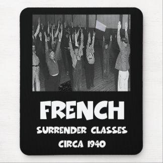 Tapis De Souris Anti Français drôle
