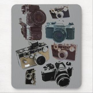 Tapis De Souris appareil-photo affligé de photographie de
