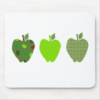 Tapis De Souris Apple vert