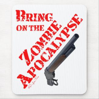 Tapis De Souris Apportez sur l'apocalypse de zombi