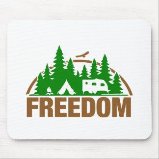 Tapis De Souris Appréciez la liberté de camping