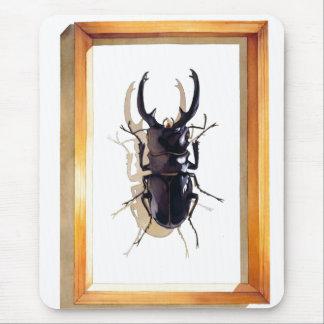 "Tapis De Souris Aquarelle de scarabée de mâle ""de subita"