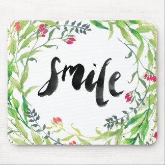 Tapis De Souris Aquarelle Mousepad de sourire