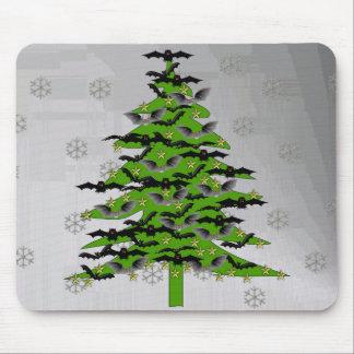 Tapis De Souris Arbre de Noël timbré