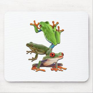Tapis De Souris Arbre Frogger