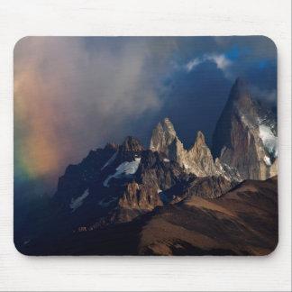 Tapis De Souris Arc-en-ciel dans les Andes