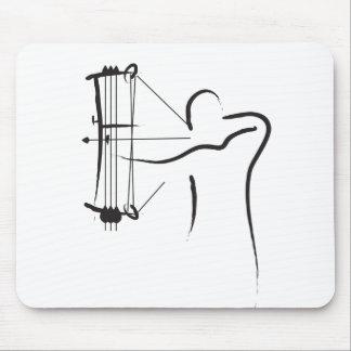 Tapis De Souris Archer composé masculin