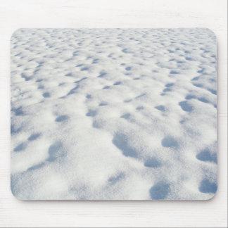 Tapis De Souris Arrière - plan de neige - Mousepad