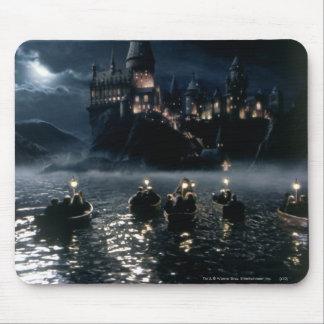 Tapis De Souris Arrivée du château   de Harry Potter chez Hogwarts