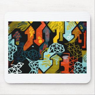 Tapis De Souris Art abstrait des flèches