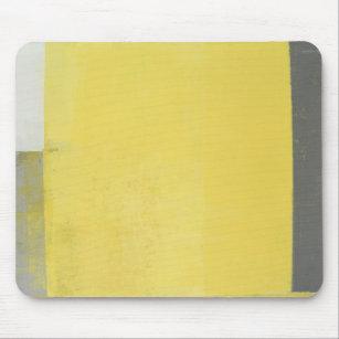 tapis de souris gris jaune personnalis s. Black Bedroom Furniture Sets. Home Design Ideas