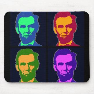 Tapis De Souris Art de bruit quatre Abraham Lincolns