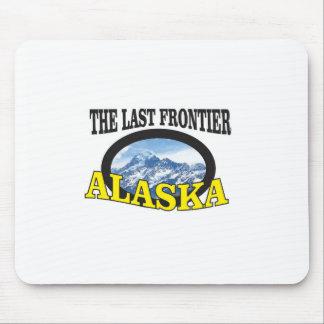 Tapis De Souris art de logo de l'Alaska