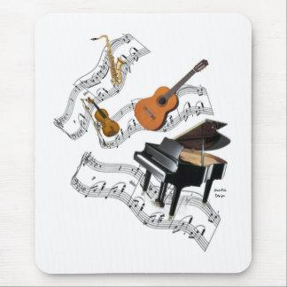 Tapis De Souris Art de musique classique