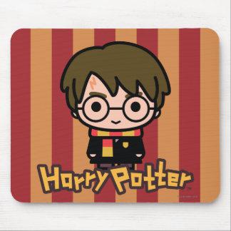 Tapis De Souris Art de personnage de dessin animé de Harry Potter