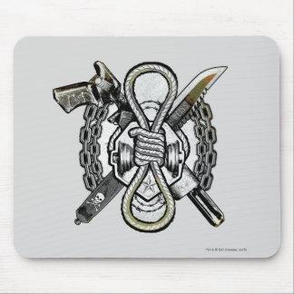 Tapis De Souris Art de tatouage d'armes de noeud coulant du