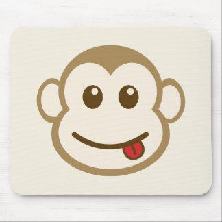 Tapis De Souris Art de vecteur de visage de singe