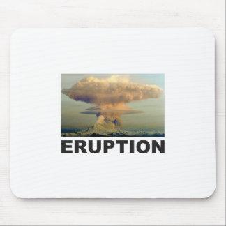 Tapis De Souris Art d'éruption
