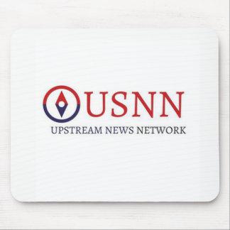 Tapis de souris ascendant de réseau de nouvelles