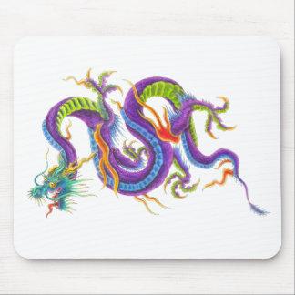 Tapis de souris asiatique oriental de tatouage de