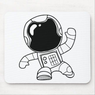 Tapis De Souris Astronaute