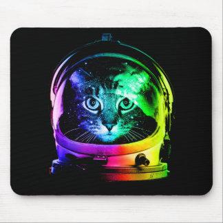 Tapis De Souris Astronaute de chat - chat de l'espace - chats