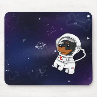 Tapis De Souris Astronaute minimum de Pin dans l'espace Mousepad