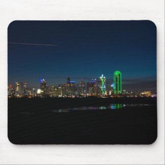 Tapis De Souris Aube Pano d'horizon de Dallas