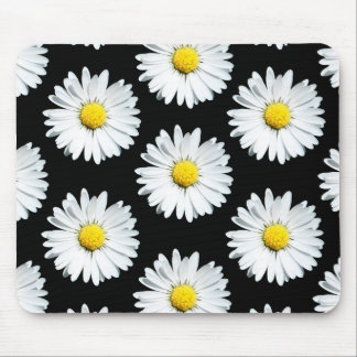 Tapis de souris audacieux floral de motif de