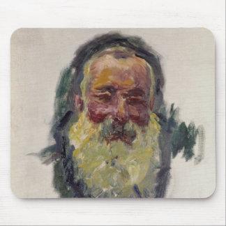 Tapis De Souris Autoportrait de Claude Monet |, 1917