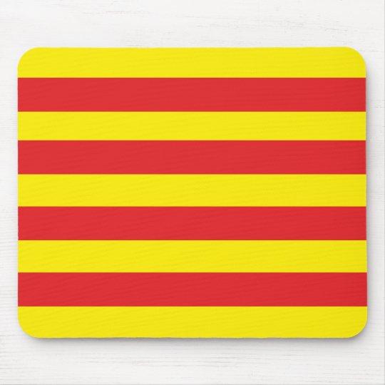 "Tapis de Souris avec drapeau Catalan ""Serenya"""