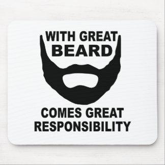 Tapis De Souris Avec la grande barbe vient la grande
