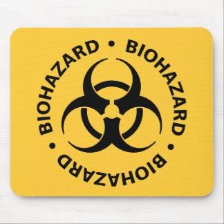 Tapis De Souris Avertissement de Biohazard