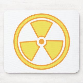 Tapis De Souris Avertissement radioactif