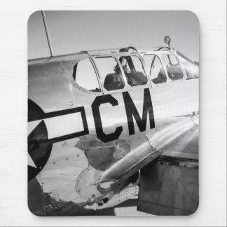 Tapis De Souris Avion de combat de 2ÈME GUERRE MONDIALE de mustang