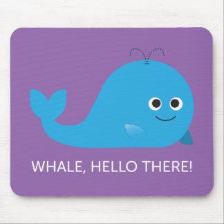 Tapis De Souris Baleine, bonjour là !