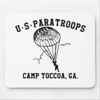Tapis De Souris Band of Brothers Currahee US Paratrooper Toccoa