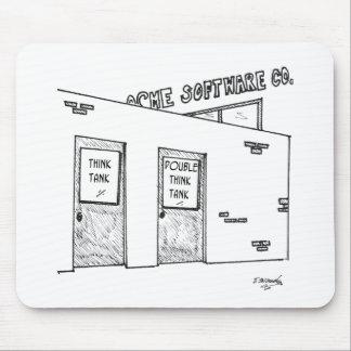 Tapis De Souris Bande dessinée 1631 de groupe de réflexion