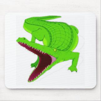 Tapis De Souris bande dessinée d'alligator