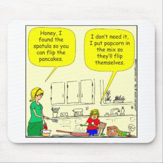 Tapis De Souris Bande dessinée de 311 crêpes de maïs éclaté