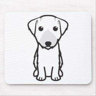 Tapis De Souris Bande dessinée de chien de Lucas Terrier