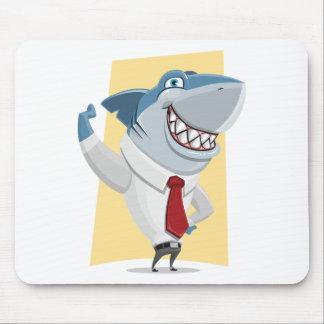 Tapis De Souris bande dessinée de requin
